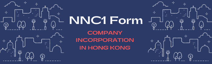 NNC1 Form - HK company incorporation
